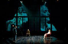 #Talesfromhollywood production photos.  Lee Sellars as Ödön von Horváth, Keir Dullea as Heinrich Mann and Allison Daugherty as Nelly Mann