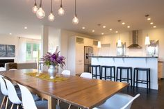 contemporary dining room by Mary Prince
