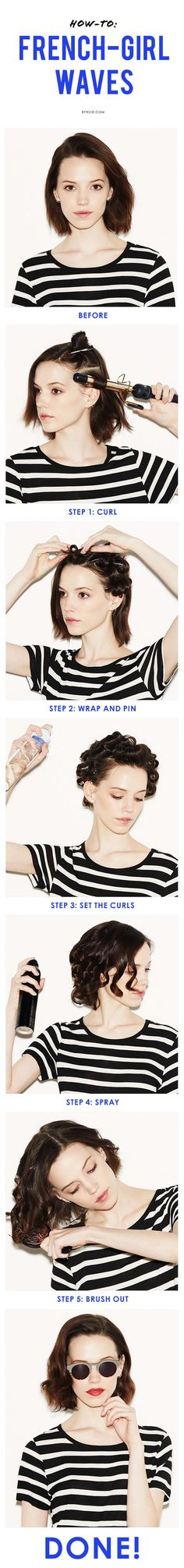 A guide to making waves. #hairstyle #tutorial #beauty