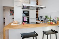 1000 images about kitchen on pinterest mid century - Cocinas modernas blancas ...