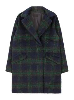 #mixxmix Tartan Check Coat - Reveal your inner fashionista by wearing this chic tartan check coat. #mxm #hideandseek #has #365basic #model #item #girlsfashion #womenfashion #koreangirls #koreanfashion #streetfashion #twins #couple #daily #outfit #styling #casual #lovely #unique #basic #young #stylish