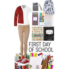 """uniform swag"" by love-mae on Polyvore"