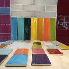 """BV Tile & Stone - #Tonalite #Joyful #Subway #Floor & #Wall #Tile is here. Add some flavor to your #kitchen, #bathroom, #shower, and #living #room Available in a wide assortment of sizes and colors to satisfy your colorful #interior #design ideas. 4""""x8"""" & 4""""x16""""(Special Order) FROM #ITALY Only at BV Tile & Stone. Showroom in #Anaheim, CA off State College. Call us (714) 772-7020 or visit our website www.bvtileandstone.com for more #products #interiordesign #modern #color #ceramic #porcelain"""