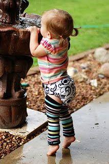 DIY Baby Leg Warmers! This looks so easy!