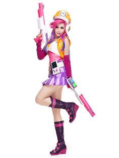 League Of Legend Lol Arcade Miss Fortune The Bounty Hunter Cosplay Costume