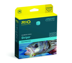 RIO In Touch  Striper Coldwater Fly Lines for Sale - SAME DAY Shipping, NO Sales tax The Rio In Touch  Striper Coldwater is an updated line for 2015, and proves once again that Rio knows the needs of dedicated Striper fly flingers who are targeting these gleaming, baitfish chomping beasties, coast-to-coast. The moderately powerful head, teamed up with Rio's technically superior Coldwater fly  line coatings make the Striper Coldwater fly line an excellent for all-condition, everyday fishing…