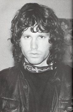 Jim Morrison, The Doors - an iconic photo which is so easily recognised (if you are old enough) and the music is still fantastic