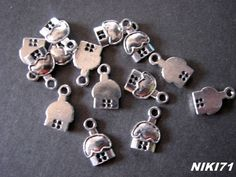Mushroom House Charms  #305. Starting at $3 on Tophatter.com!