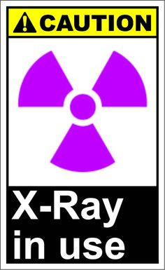X-ray in use $1.64 #signs