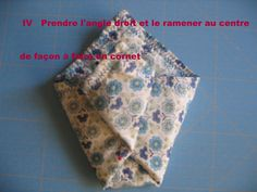 Tuto pochette origami - le blog mona66 Couture, Alphabet, Patches, Blog, Voici, Tela, Fabrics, Sewing, Alpha Bet