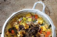 Pot Roast, Beef, Ethnic Recipes, Dressing, Food, Carne Asada, Meat, Roast Beef, Essen