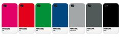 pantone colours for ipad and iphone covers