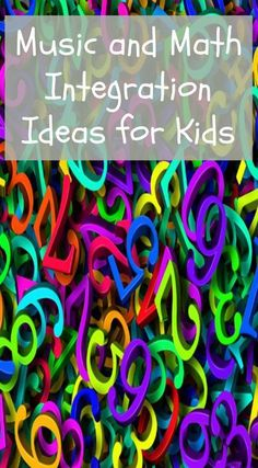 Music and Math Integration Ideas for Kids to use in music education for elementary music in the music classroom or homeschool music- The Domestic Musician Elementary Music Lessons, Music Lessons For Kids, Music Lesson Plans, Math Lesson Plans, Elementary Math, Math Lessons, Piano Lessons, Music Math, Preschool Music