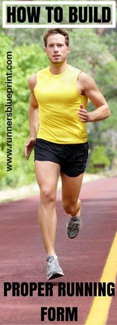 The 4 Universal Laws of Proper Running Form Running form, Running