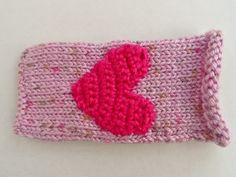 Pink Heart  Phone Holder Pink Things, Phone Holder, Bobs, Heart, Crochet, Ganchillo, Bob Hairstyle, Crocheting, Bob