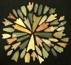 50 Neolithic Neolithique Stone Arrowheads - 6500 To 2000 Before Present - Sahara