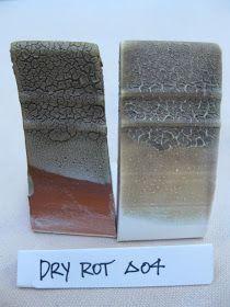 nC Clay Club Dry Rot cone 05 40.0 EPK 10.0 Frit 3110 10.0 Soda Ash 10.0 F-4 Feldspar 10.0 Magnesium Carbonate 5.0 Lithium Carbonate 3.0 Barium Carbonate 2.0 Silica