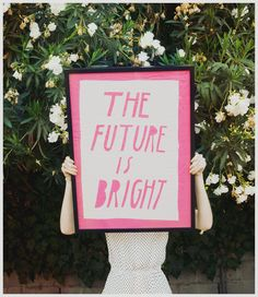 YES!!! :: ... the future is bright ... #recovery