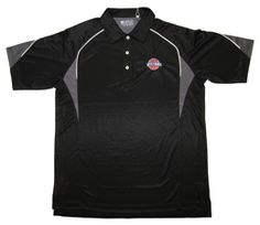 Gear Black Color Block Golf Shirt