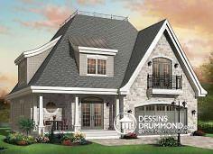 Plan de maison no. W2673 de dessinsdrummond.com