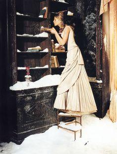 Natalia Vodianova: The Splendid Allure - Vogue Italia by Ellen von Unwerth, November 2002