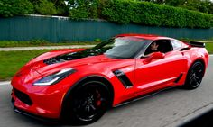 Up close with the 2015 Z06 in the 2015 Corvette Dream Giveaway
