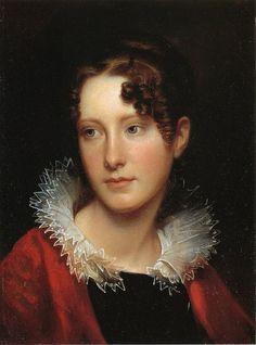 Portrait of Rosalba Peale  Rembrandt Peale