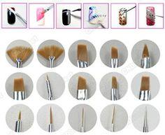 15pcs Pink Hand Nail Art Paint Dot Draw Pen Brush Decoration Nail Tools Set HYX2 | eBay