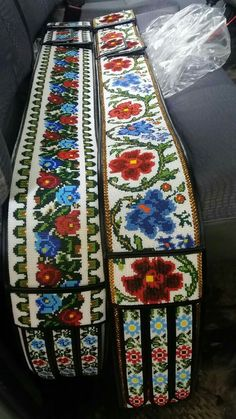 Cross Stitch Rose, Cross Stitching, Beading Patterns, Floral Tie, Diy And Crafts, Embroidery, Beads, Elegant, Romania