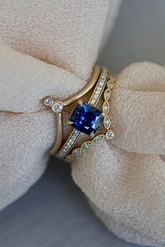 The bluest sapphire