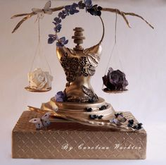 "Sugar Myths and Fantasies global Edition ""Balance"" - Cake by carolina Wachter Cake Structure, Gravity Defying Cake, Japanese Illustration, Victorian Gothic, Custom Cakes, Cake Art, Cake Designs, Cookie Decorating, Amazing Cakes"