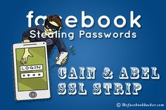 This is an advanced tutorial on how to steal facebook password where we'll be using a tool called Cain