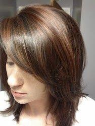 Highlights for dark hair