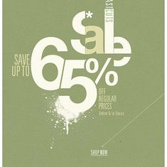 文艺犯2青年采集到【Graphic】The sale(254图)_花瓣平面