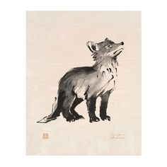 The Fox Cub plywood poster by Teemu Järvi features a beautiful animal painting printed on thick plywood. The lightweight poster comes with a laser engraved signature and monogram and can be hung with a clip, a wood stick frame or a standard frame. Nordic Interior Design, Wallpaper Magazine, Animal Paintings, Plywood, Laser Engraving, Animals Beautiful, Cubs, Design Art, Illustration