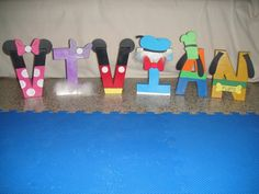 Mickey Mouse Clubhouse inspiration for wood blocks!!