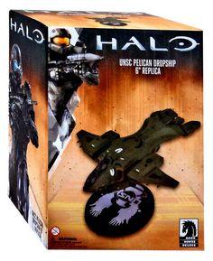 Halo UNSC Pelican Dropship 6-Inch Ship Replica Statue