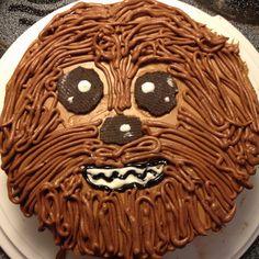 chewbacca birthday cake starwars let s party pinterest