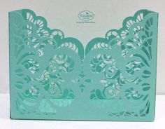 Lace Pocket Box | Elizabeth Craft Designs