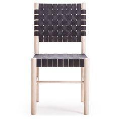 Milo A22 stol, natur/svart