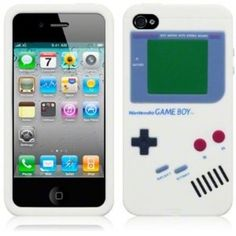 ~~Nintendo Game Boy Silicone Back Cover Case for iphone 4/4S – White~~The iphone Nintendo Gameboy silicone case really kinda piss me off, because I can't use it playing video games. This novelty iPhone case is a tribute to the greatest portable gaming device ever… so it's no coincidence that the Gameboy iPhone case may just be the greatest iPhone case ever.  http://www.mywanty.com/nintendo-game-boy-silicone-back-cover-case-for-iphone-4-4s-white