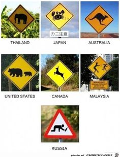 Road signs you may not know about...