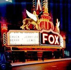 The Fox Theater, Detroit