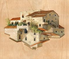 Cinta Vidal | Art | Pinterest | Illustrations, Surrealism And Building  Illustration