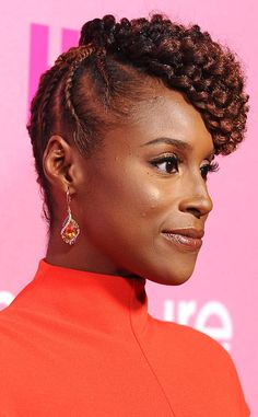 Best Cornrows from Best Braids of 2016  Breakout star Issa Rae takes home the gold for a year of regal and natural hairstyles. There's nothing to be insecure about here!