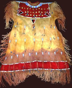 Plains Indian Two Skin Dress
