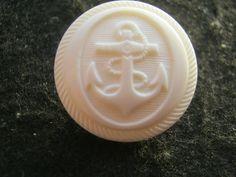 20 Stück Jackenknöpfe mit Öse,weiß Maritime Knöpfe mit Anker,Durchmesser ca.22 mm,Neu,Lübecker Knopfmanufaktur von Knopfshop auf Etsy