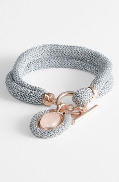 Adami & Martucci 'Mesh' Toggle Bracelet