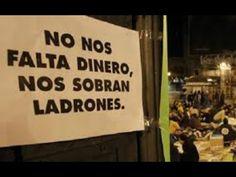 COLOMBIA; NO NOS FALTA DINERO; NOS SOBRAN LADRONES..