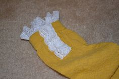 Sew your own boot socks at all things good blog...